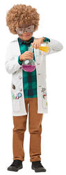 Mad Scientist Boys Fancy Dress Lab Doctor Uniform Childs Kids Halloween Costume