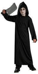 Kids Haunted Horror Robe Halloween Fancy Dress Costume