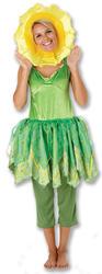 Little Weed Ladies Bill & Ben Fancy Dress TV Womens Daffodil Flower Costume 8-18