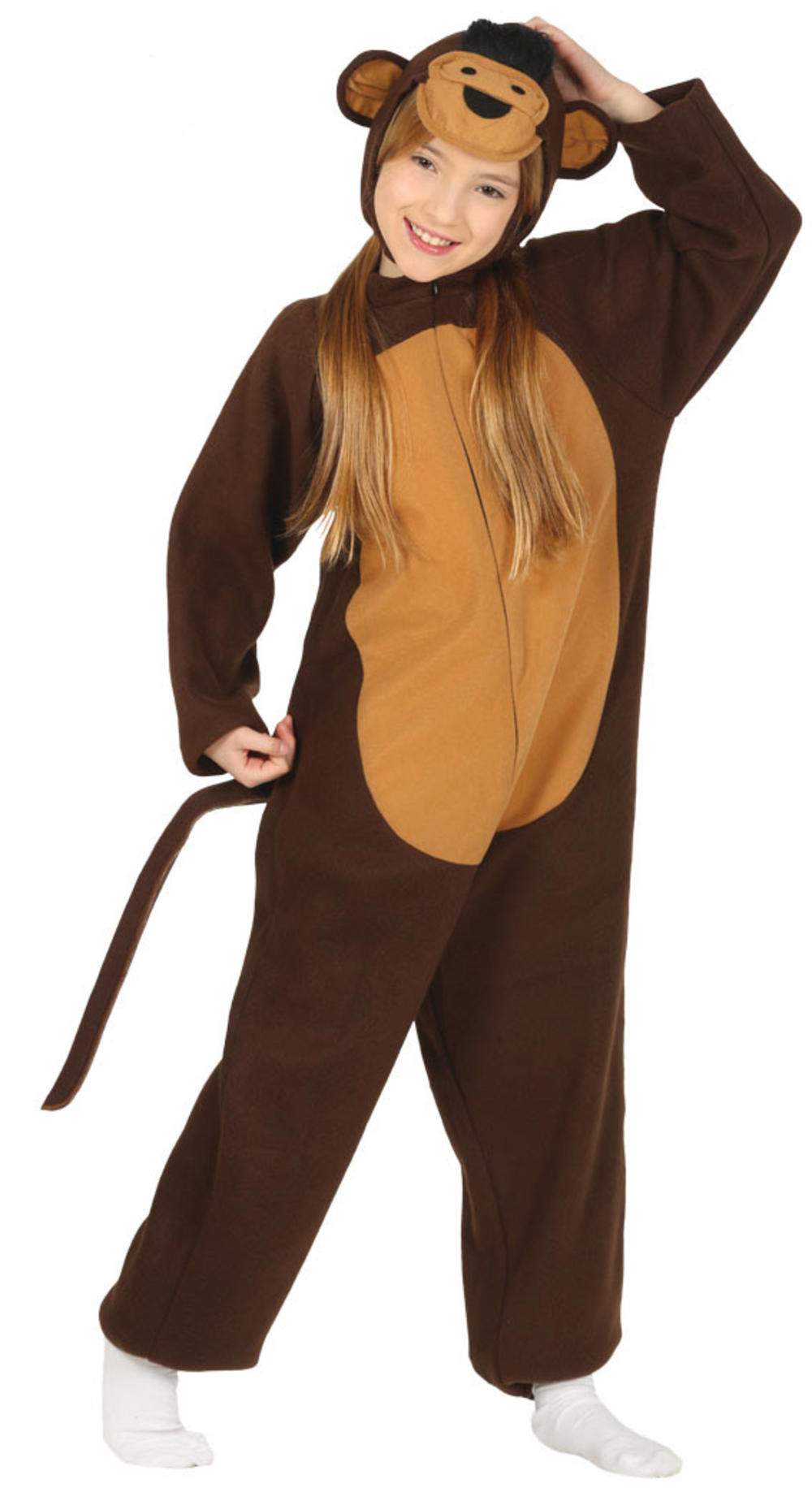 Little Monkey Kids Fancy Dress Animal Boys Girls World Book Day Costume Outfit