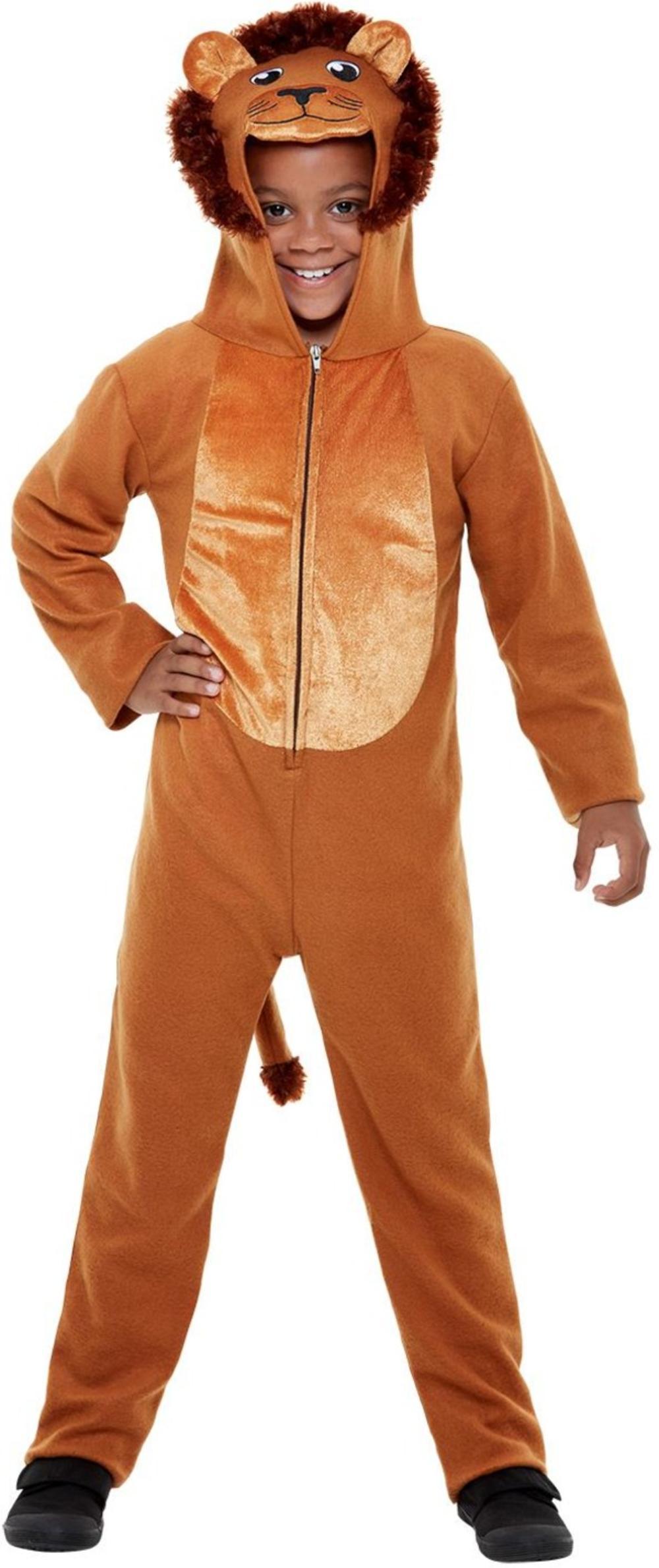 Lion Kids Fancy Dress Safari Zoo Animal World Book Day Boys Girls Costume Outfit