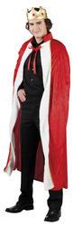King Mens Fancy Dress Royal Tudor Christmas Nativity Adults Costume Outfit
