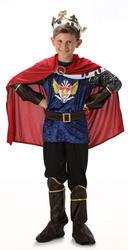Royal King Boys Fancy Dress Medieval Tudor Kids Childrens Nativity Child Costume