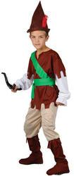 Robin Hood Kids Fancy Dress Boys Medieval Costume 3-10