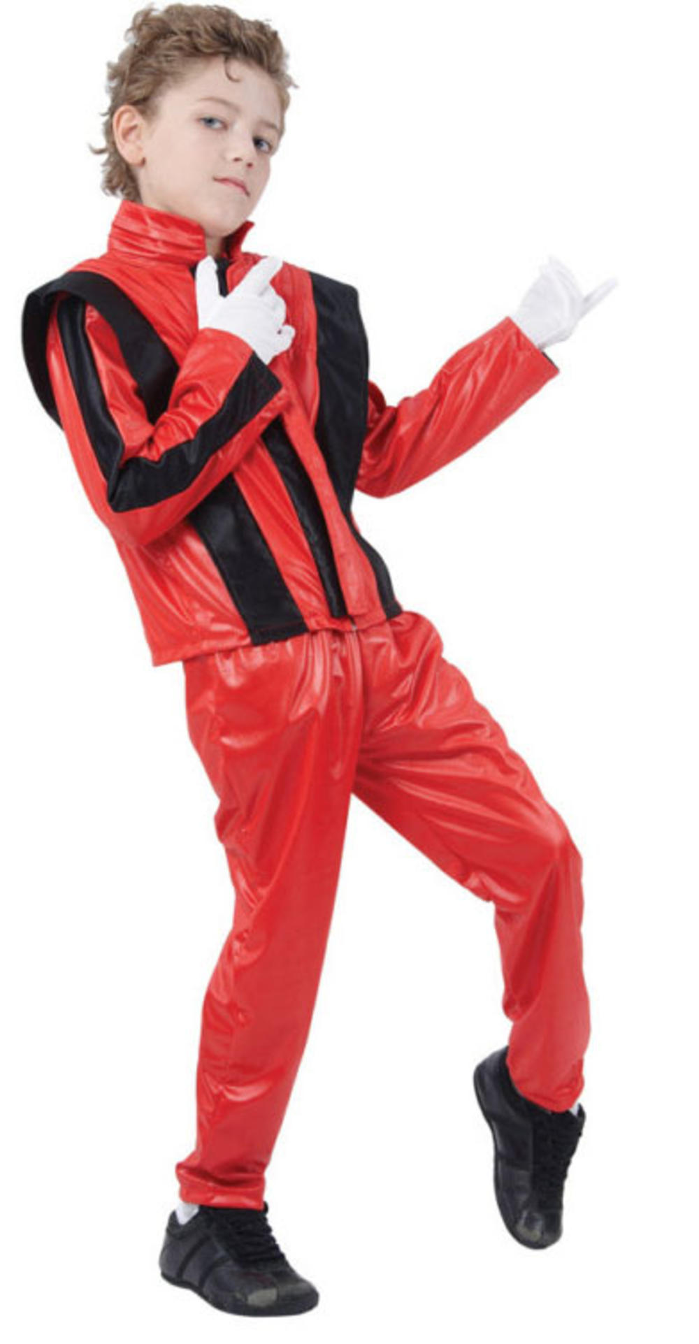 Thriller Pop King Boys Halloween 80s Fancy Dress Pop Celebrity Childs Costume