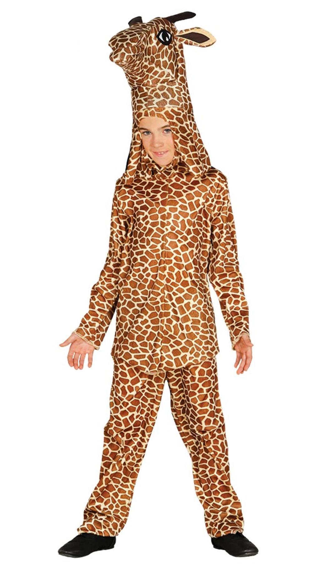 Giraffe Kids Fancy Dress Safari Zoo Animal Boys Girls World Book Day Costume