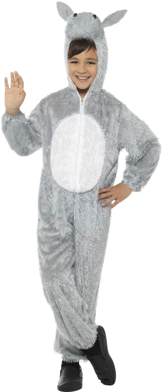 Kids Donkey Nativity Animal Fancy Dress Boy Girl Christmas School Play Costume