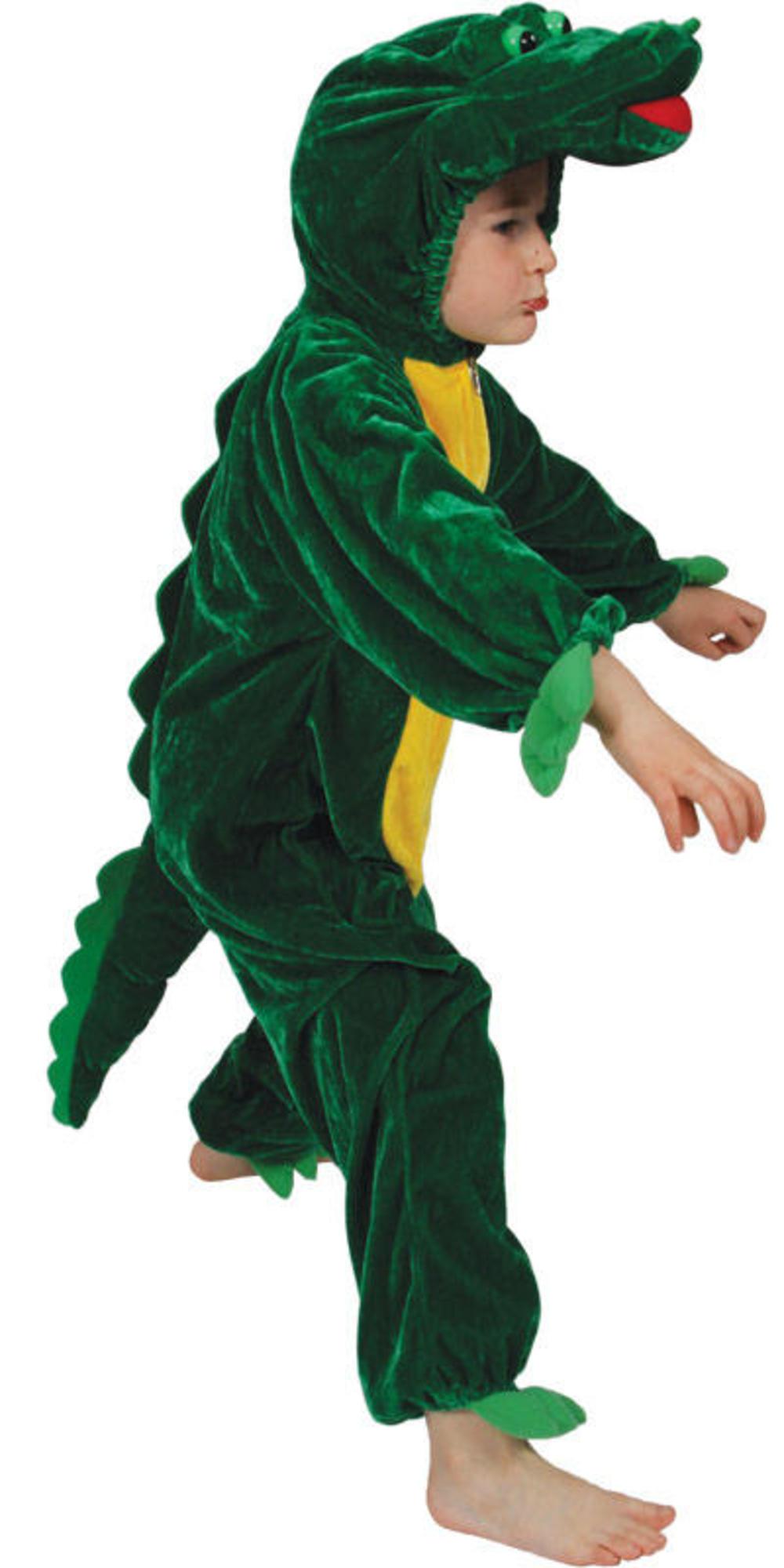 Crocodile Kids Zoo Jungle Animal Fancy Dress Child Boys Girls Costume Outfit New