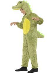 Crocodile Kids Fancy Dress Animal Halloween Roald Dahl Childrens Boys Costume