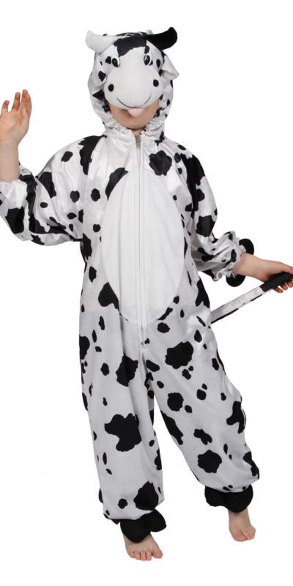 Cow Kids Farm Animal Fancy Dress Child Boys Girls Costume Outfit 3-11 Years New