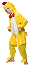 Yellow Easter Chick Kids Chicken Farm Animal Fancy Dress Childs Costume Outfit