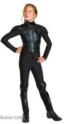 Katniss Girls Fancy Dress Hunger Games Mockingjay Book Film Halloween Costume