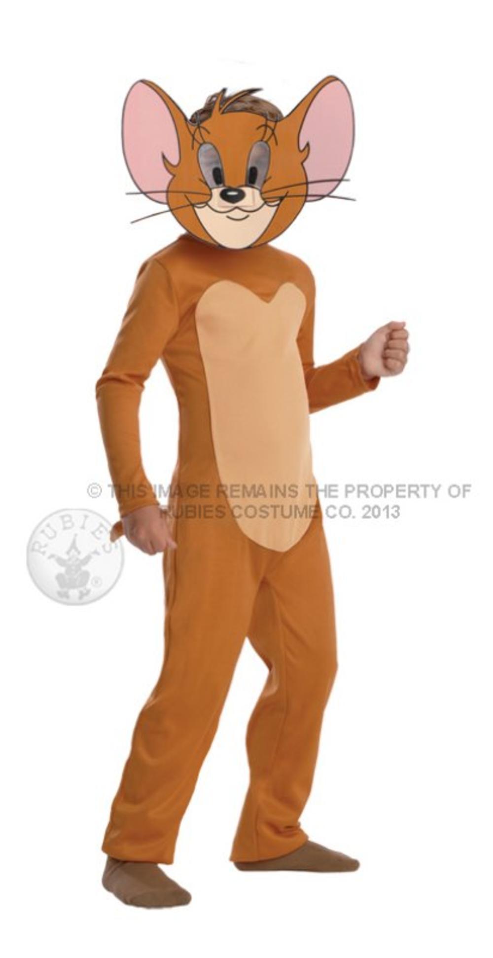 Jerry Mouse Kids Fancy Dress Tom & Jerry Cartoon Animal Boys Girls Child Costume