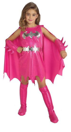 Girls Pink Batgirl Costume