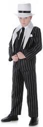 Gangster Boys Fancy Dress 20s Mafia Bugsy Malone Childrens Kids Childs Costume