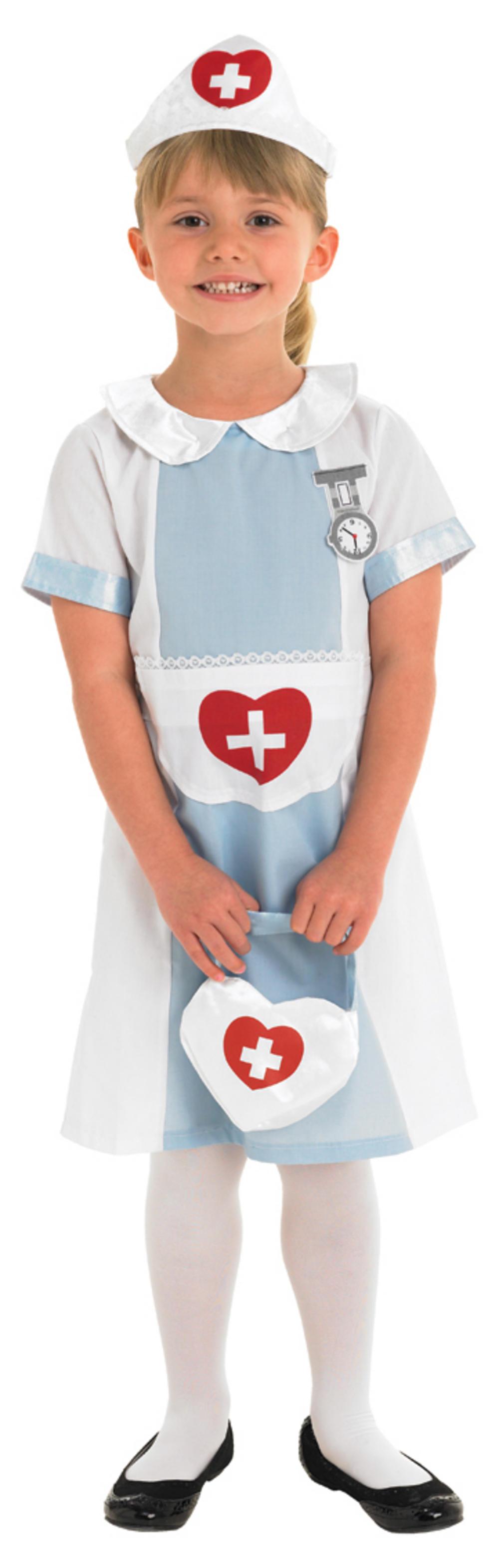 Girls Nurse Uniform Costume