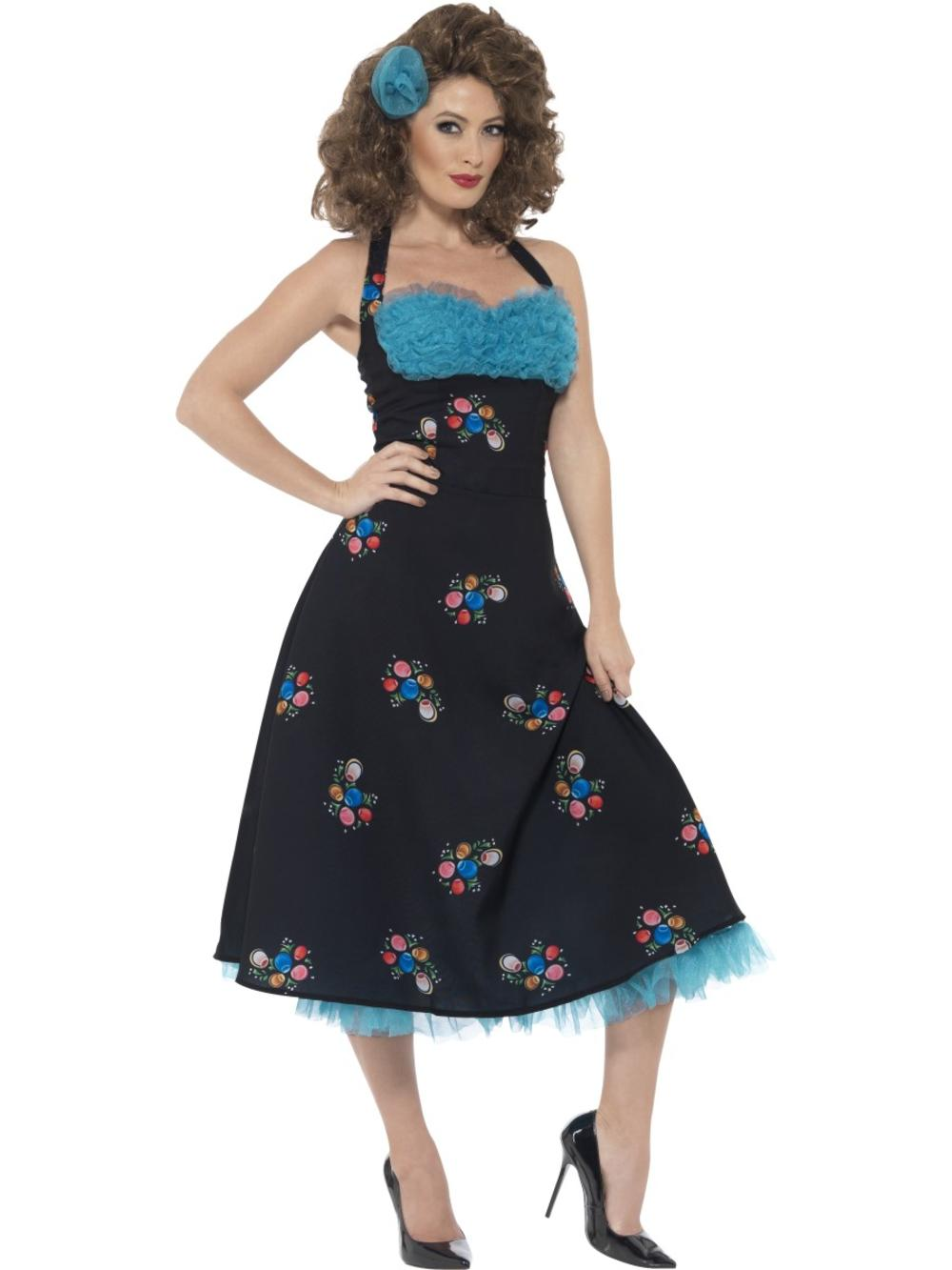 Grease Cha Cha DiGregorio Ladies Fancy Dress 50s Movie Character Adults Costume