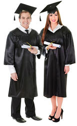 Graduation Robe & Hat Costume