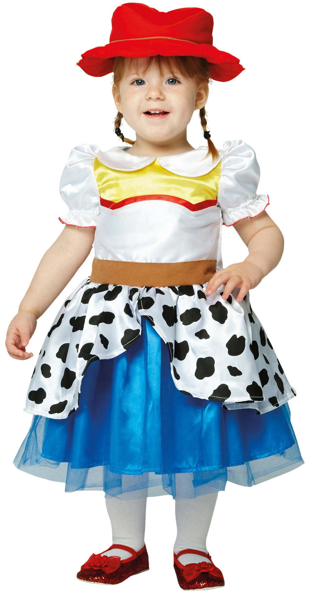 Jessie Toy Story Girls Fancy Dress Cowgirl Kids Disney Toddlers Infants Costume