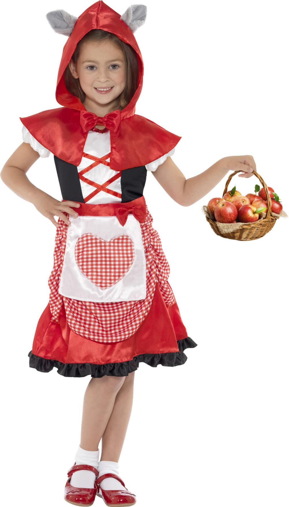 Girls Miss Hood Costume
