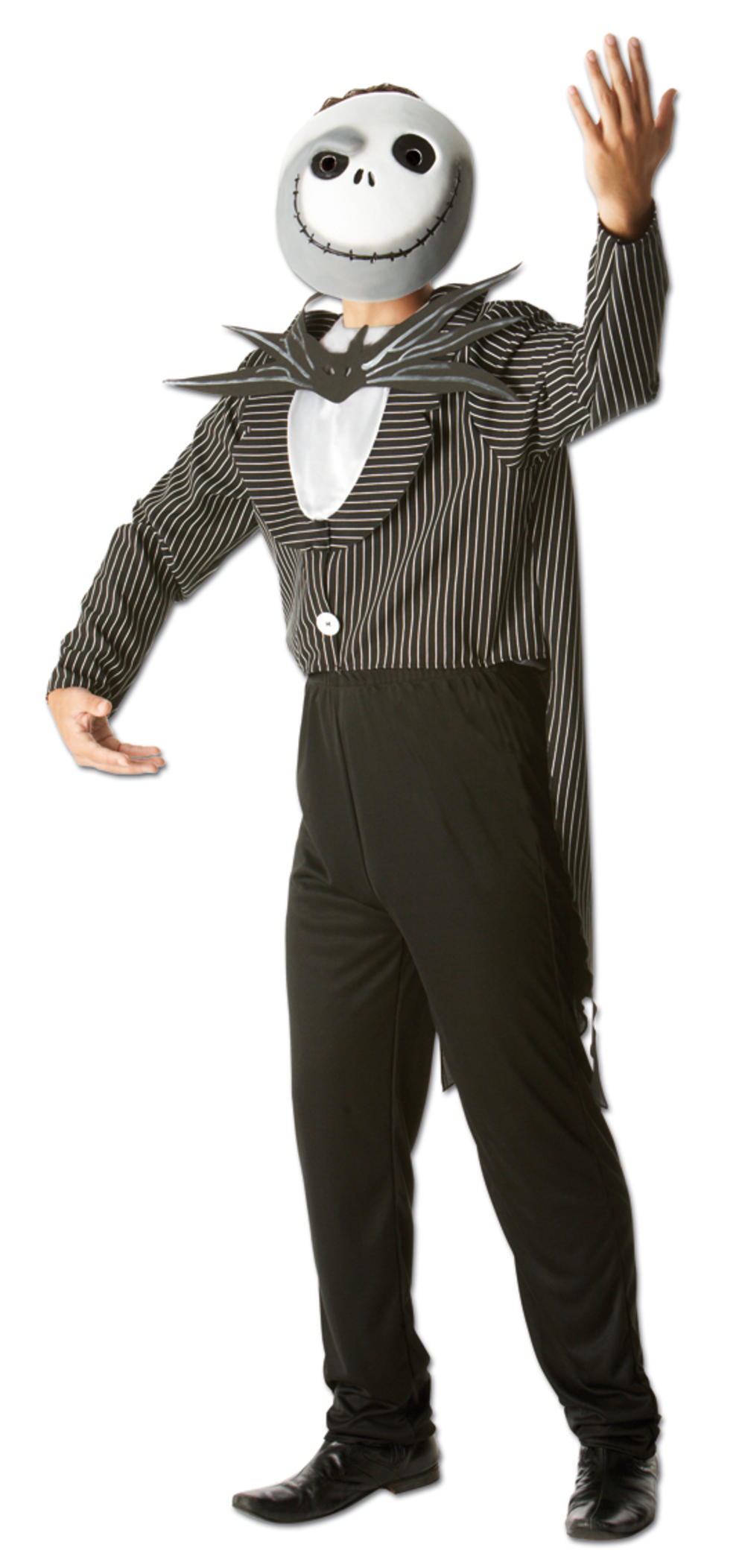 Jack Skellington Nigtmare Before Christmas Men's Halloween Fancy Dress Costume