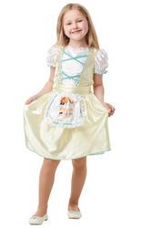 Goldilocks Girls Fancy Dress Three Bears Fairy Tale Kids World Book Day Costume