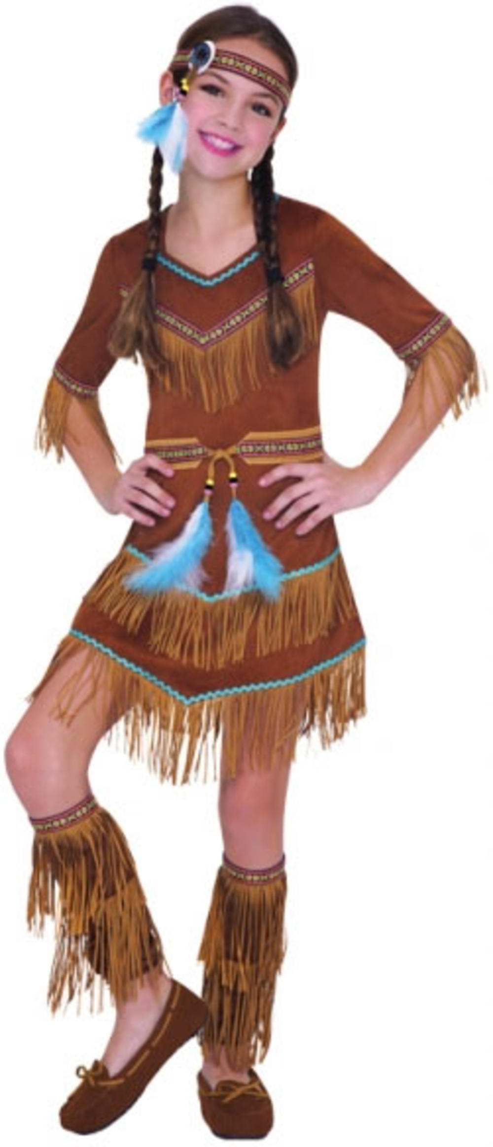 Indian Dream Cather Cutie Girls Fancy Dress Native American Kids Costume Outfit