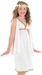 Cleopatra Girlsl Costume Ancient Egypt Kids Egyptian Fancy Dress Childs Outfit