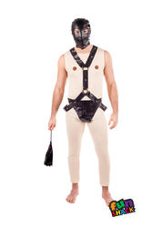 Novelty Gimp Mens Fancy Dress Hen Stag Night Party Funny Adults Costume New