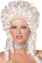 Ladies Baroque Style Marie Antoinette Wig