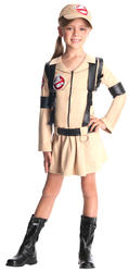 1980s Ghostbusters Girls Fancy Dress Halloween 80s Kids Childrens Costume Outfit