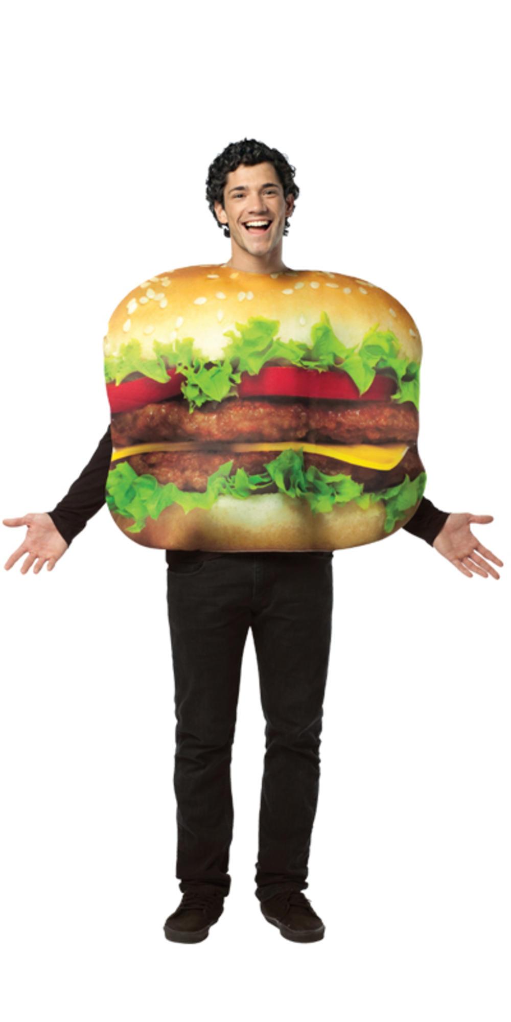 Get Real Cheeseburger Costume