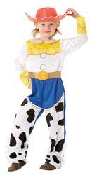 Jessie Toy Story Girls Cowgirl Fancy Dress Up Kids Disney Costume Oufit + Hat