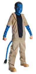 Jake Sully Avatar Boys Fancy Dress Alien Sci Fi Movie Kids Childs Costume Outfit