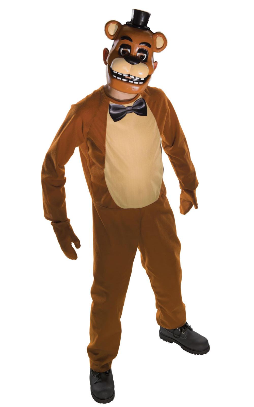 Freddy Five Nights at Freddy's Boys Fancy Dress Kids Halloween Costume Outfit