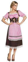 Bavarian Beer Maid Ladies Fancy Dress Oktoberfest Festival Womens Adults Costume