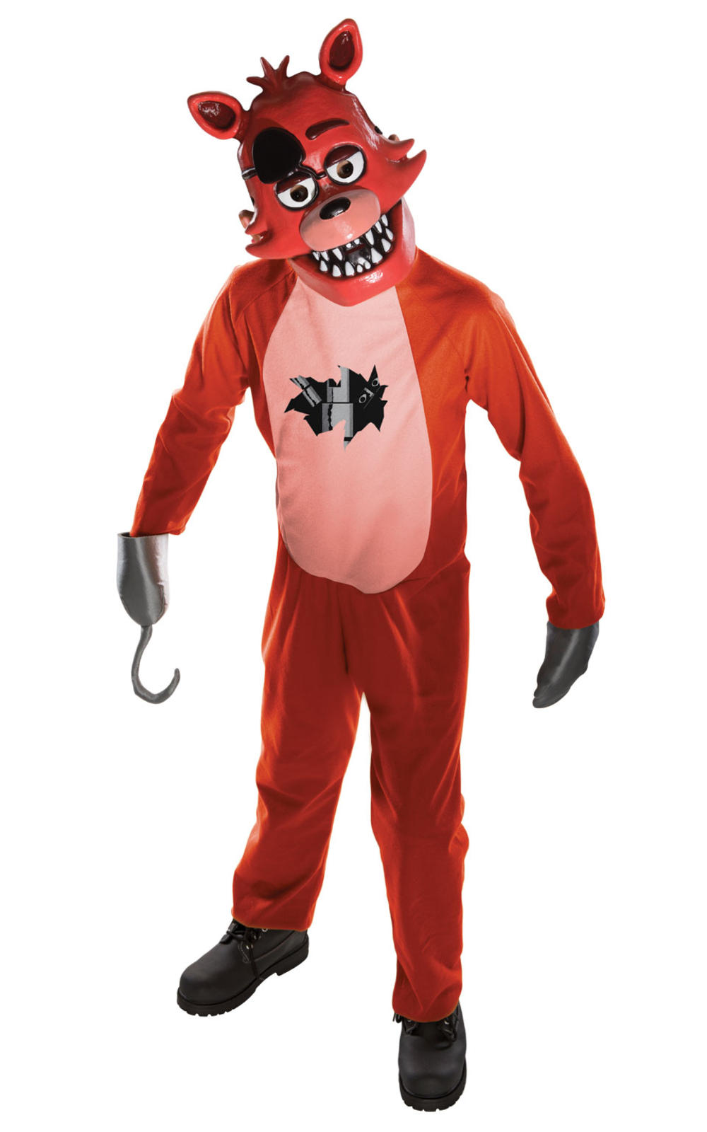 Foxy Boys Fancy Dress Five Nights at Freddy's Childrens Kids Halloween Costume