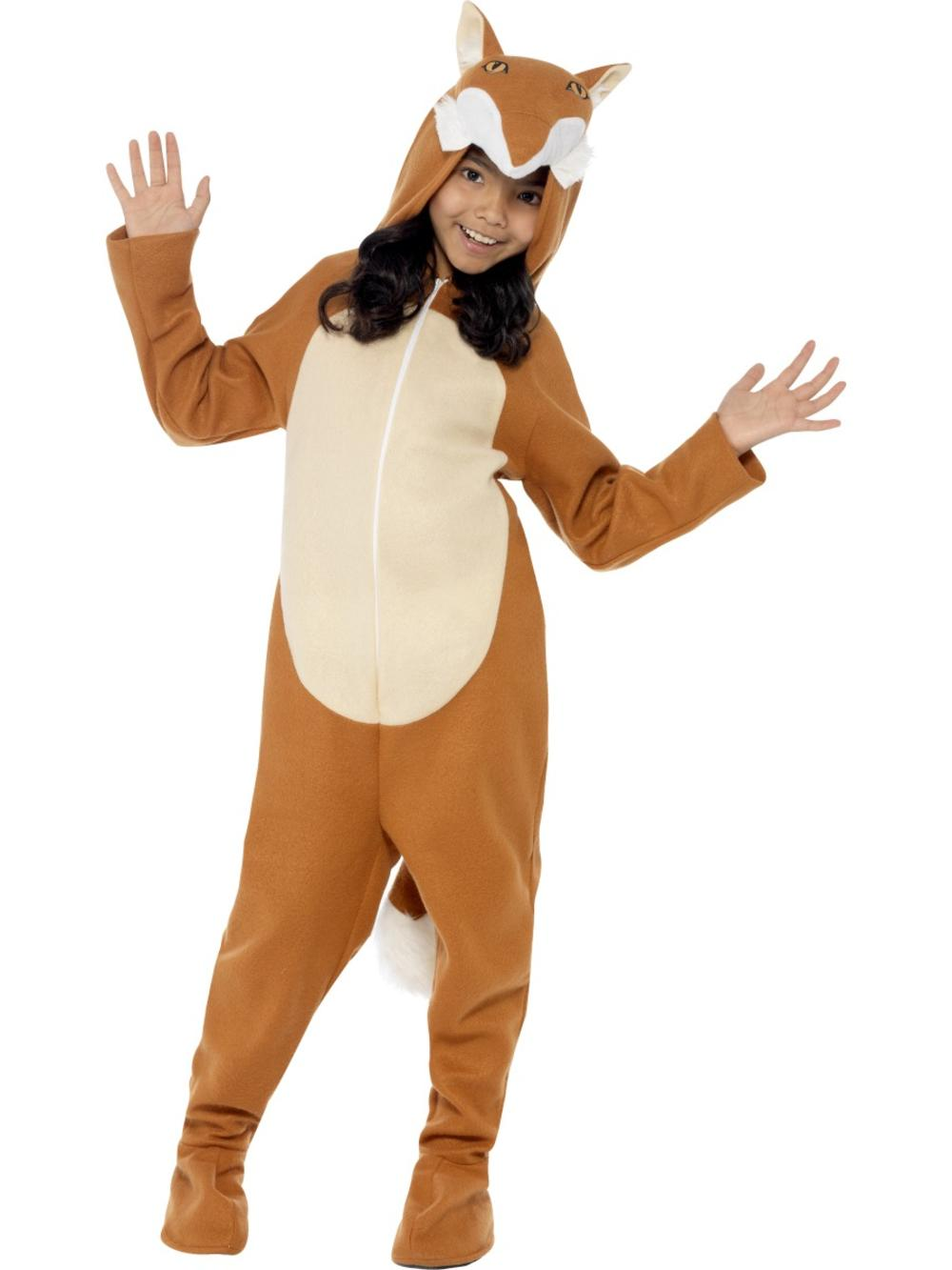 Fox Kids Story World Book Day Fancy Dress Childrens Animal Boys Girls Costume