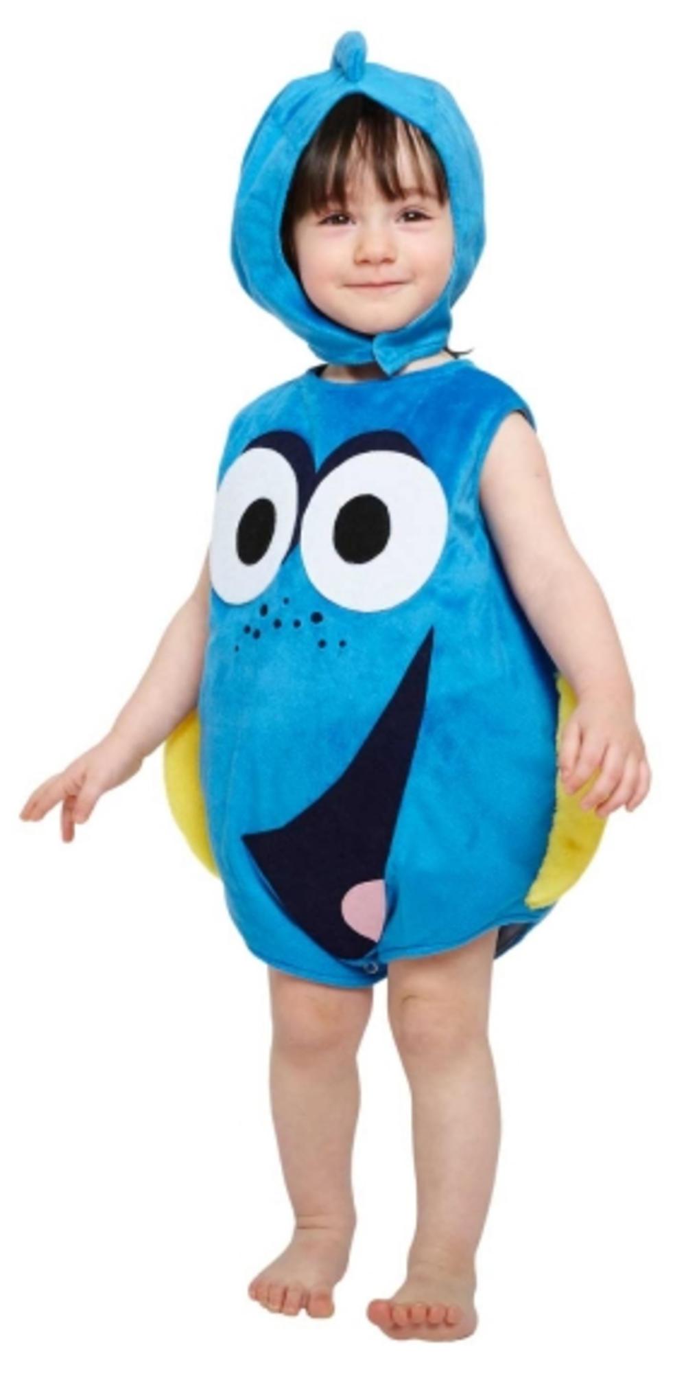 Finding Dory Kids Fancy Dress Disney Fish Animal Boys Girls Toddlers Costume