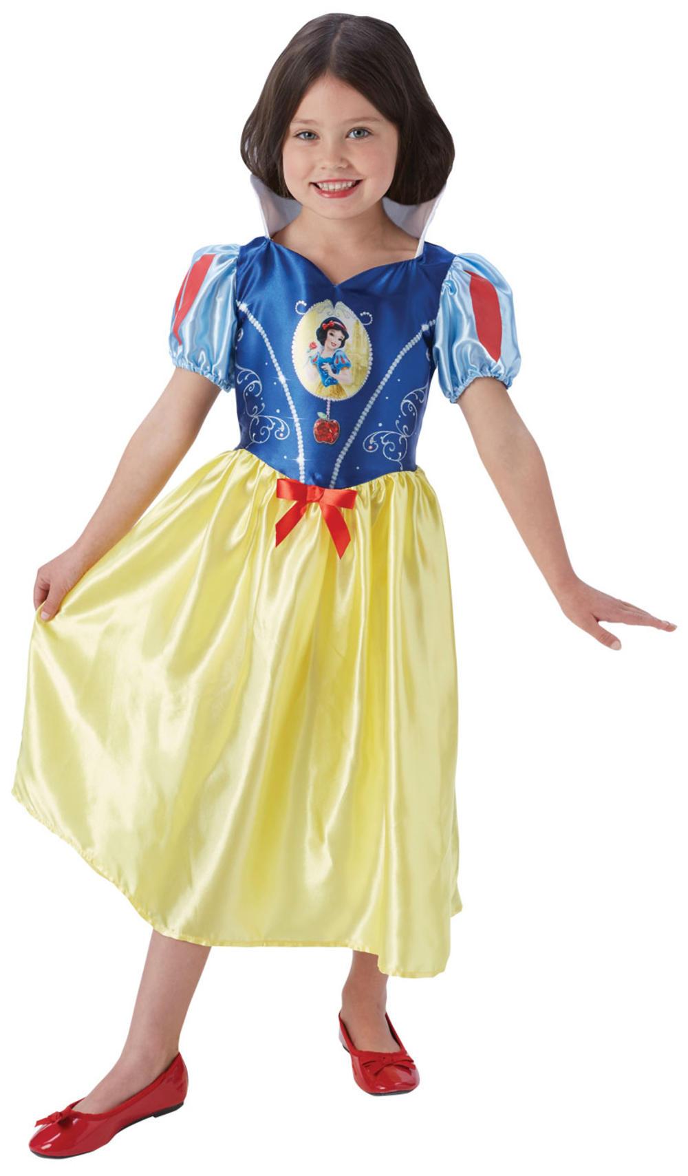 Snow White Girls Fancy Dress Disney Princess Fairy Tale Book Day Kids Costume