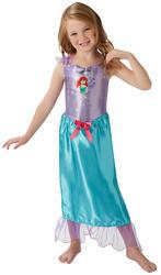 Ariel Girls Fancy Dress Disney Princess Little Mermaid Kids Fairy Tale Costume