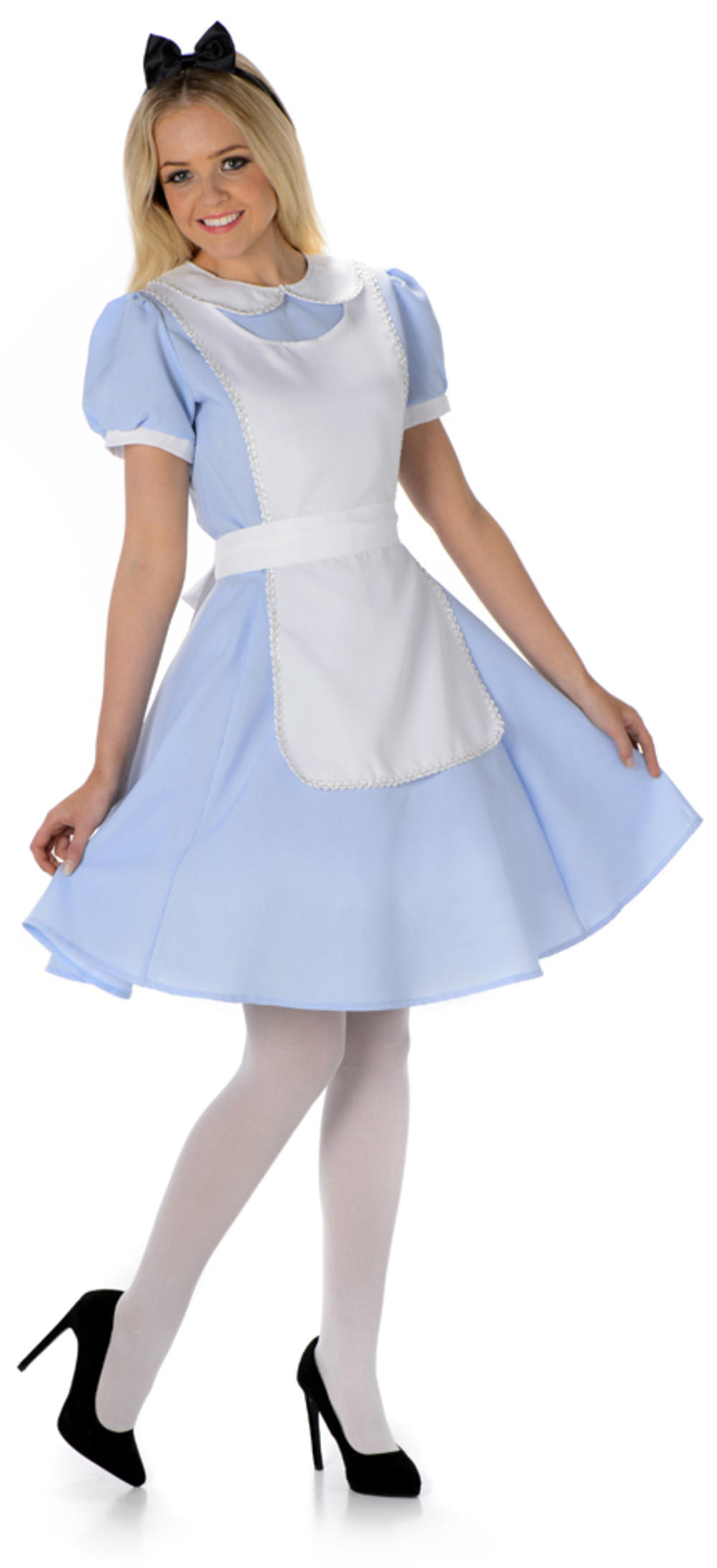Alice Ladies Fancy Dress Fairytale Story World Book Day Womens Adults Costume