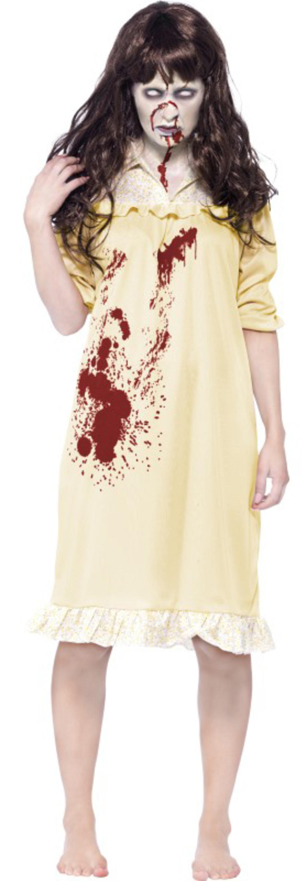 Zombie Sinister Dreams Ladies Fancy Dress Exorcist Halloween Adults Costume