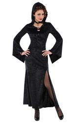 Enchantress Ladies Fancy Dress Halloween Witch Vampire Womens Adults Costume New
