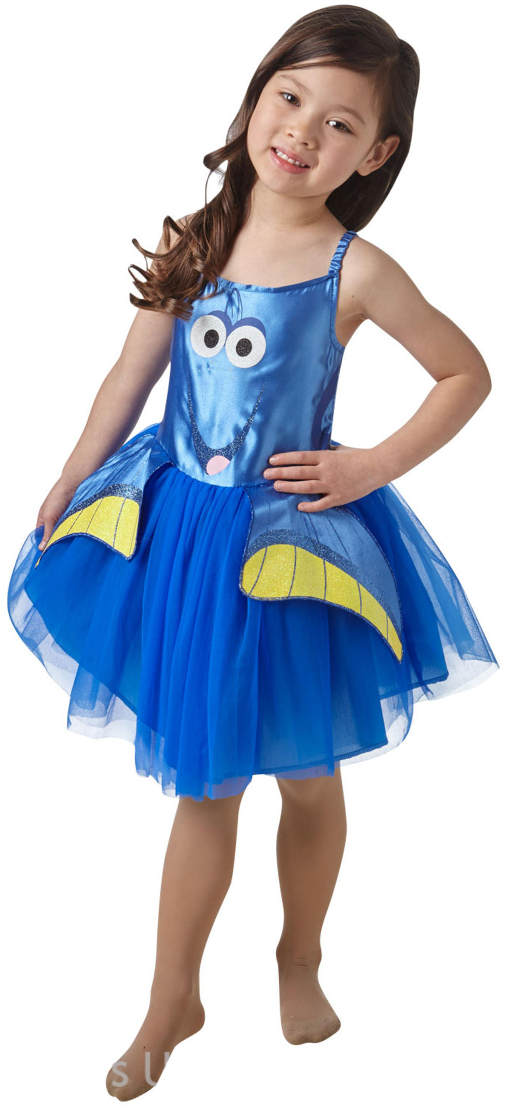Finding Dory Fish Girls Fancy Dress Disney Pixar Childrens Kids Costume Outfit