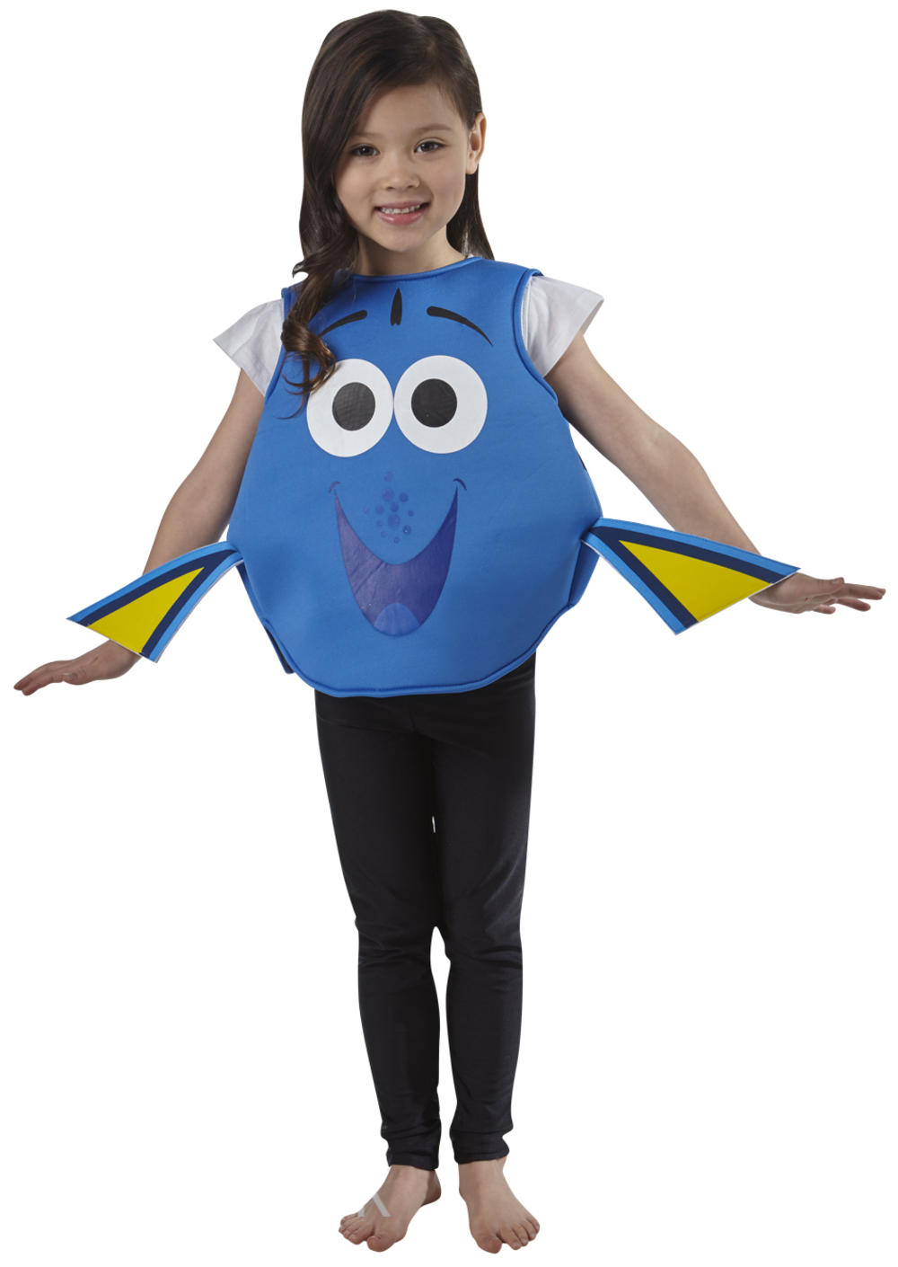 Finding Dory Fish 2-6 Years Kids Fancy Dress Disney Childrens Costume Outfit New