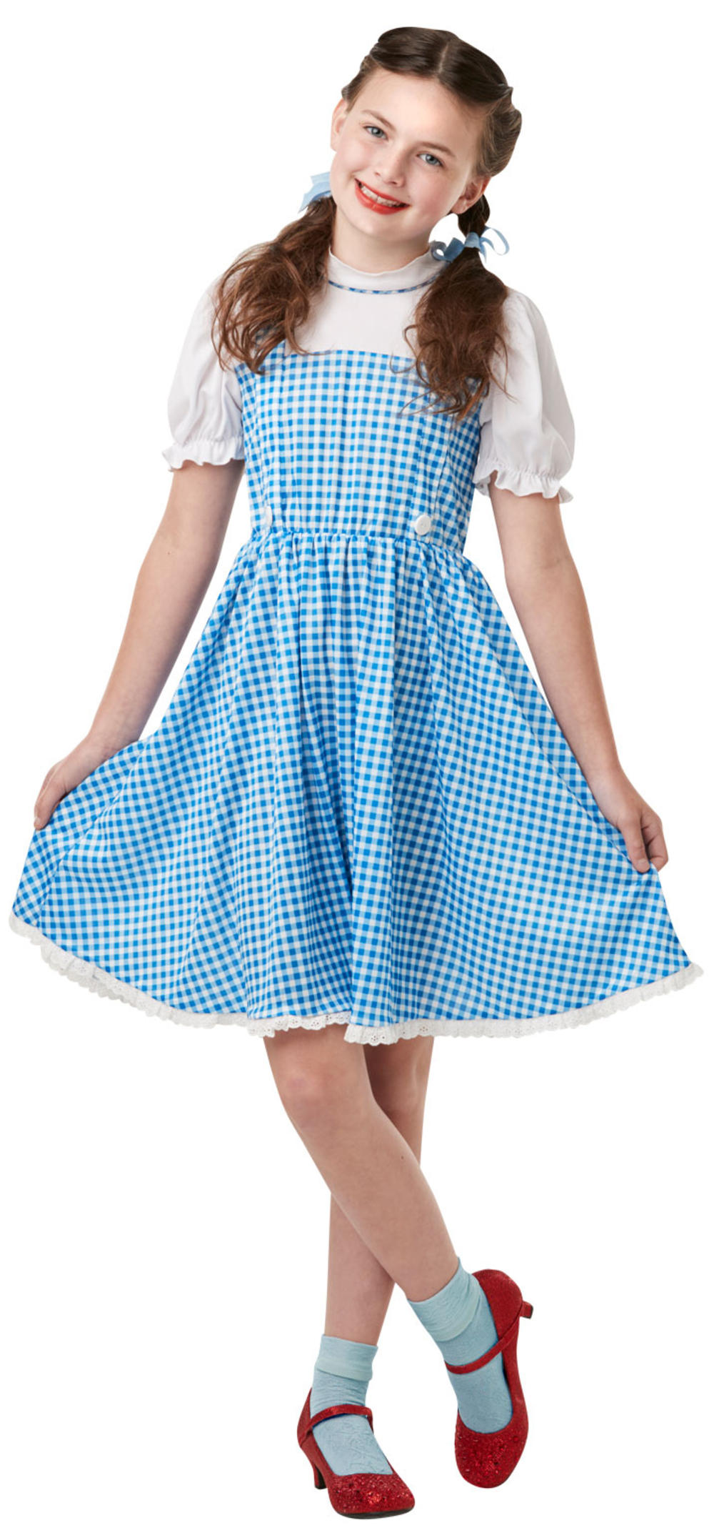 Dorothy Girls Fancy Dress World Book Day Wizard Of Oz Childrens Kids Costume New
