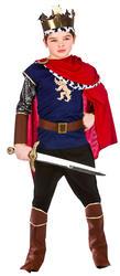 Medieval King Boys Fancy Dress Nativity Royal Renaissance Kids Childrens Costume
