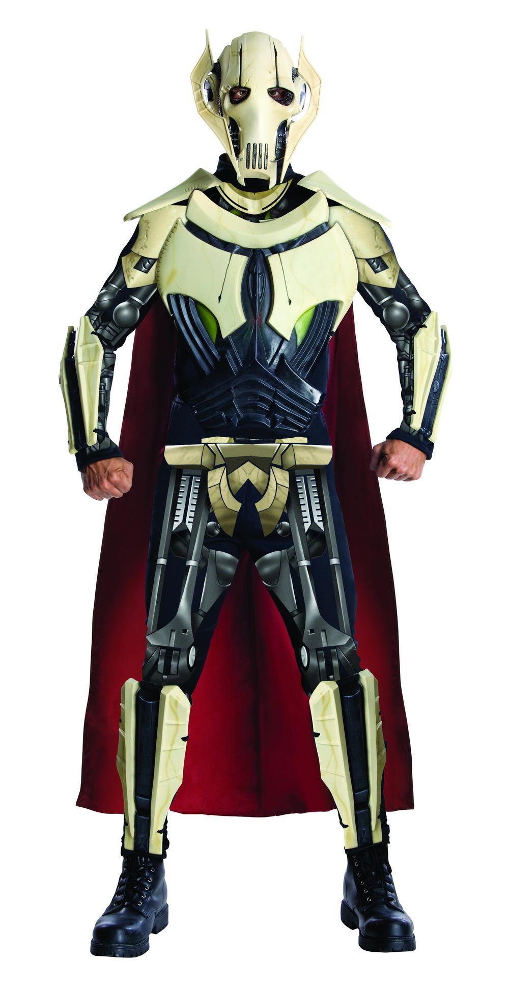 General Grevious Mens Fancy Dress Star Wars Halloween Villain Adults Costume New