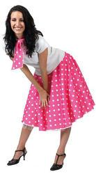 50s Pink Rock N Roll Costume